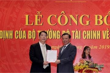 Bộ Tài chính bổ nhiệm Tổng cục trưởng Tổng cục Thuế