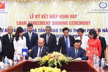 Vay 45 triệu USD làm dự án cải thiện hạ tầng giao thông Đà Nẵng