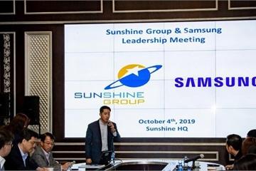 """Samsung nói gì về thông tin """"hợp tác với Sunshine Group"""" làm dự án thông minh?"""