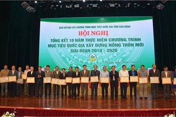 Cao Bằng đặt thêm nhiều mục tiêu nông thôn mới sau 10 năm thực hiện