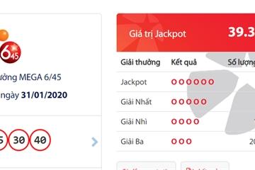 Trúng giải Jackpot 1, tỷ phú Vietlott thứ 4 của năm 2020 đã xuất hiện