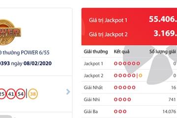16 người trúng Vietlott, Jackpot hơn 55 tỷ đồng vẫn chờ người may mắn