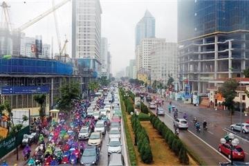 """Cấm xe máy đường Lê Văn Lương, Nguyễn Trãi: """"Đề xuất phải từ lợi ích người dân"""""""