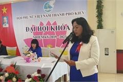 Hội phụ nữ Kiev Ucaira chào mừng ngày 20/10 và tổ chức Đại hội lần thứ V