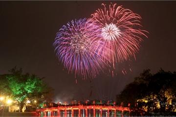 Hà Nội sẽ bắn pháo hoa tại 30 điểm trong đêm Giao thừa 2020