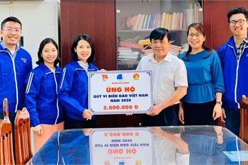 """Tuổi trẻ Hà Đông ủng hộ Quỹ """"Vì biển, đảo Việt Nam"""""""