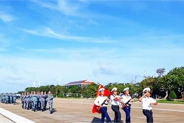 Khánh Hòa: Huyện đảo Trường Sa ra quân huấn luyện và phát động thi đua năm 2020