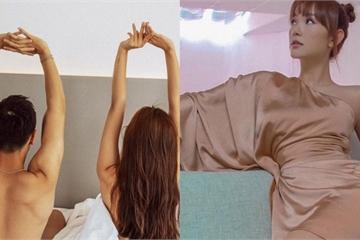 """Siêu mẫu Chúng Huyền Thanh lộ cảnh giường chiếu, Minh Hằng khoe dáng """"nude"""" táo bạo"""