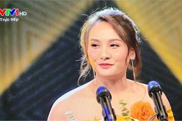 """Nàng """"xính lao"""" Bảo Thanh xuất sắc giành giải Diễn viên nữ ấn tượng VTV Awards 2019"""