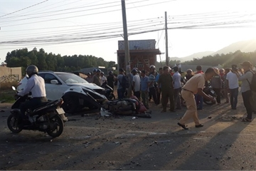 Bà Rịa-Vũng Tàu: Tai nạn liên hoàn, 1 người tử vong dưới gầm xe ben