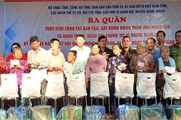 Đồng Nai: Ra quân làm công tác Dân vận chung sức xây dựng nông thôn mới nâng cao