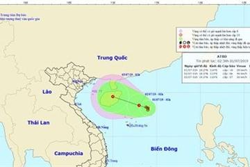 Cảnh báo: Áp thấp nhiệt đới có thể gây mưa lớn diện rộng, dông lốc cực đoan