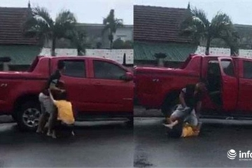 Hà Tĩnh: Tạm giữ cựu công an đánh vợ cũ dã man giữa sân bệnh viện