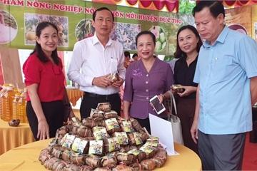 Hà Tĩnh: Sản phẩm bánh gai Đức Thọ đi vào siêu thị