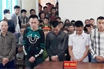 Cho vay nợ, bắt giữ người trái phép, nhóm đối tượng bị tuyên phạt 152 tháng tù