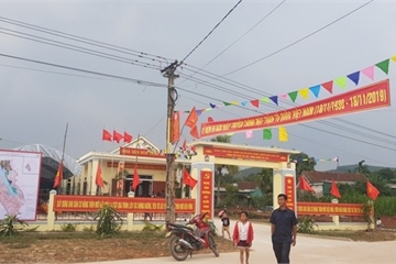 Hà Tĩnh: Nỗ lực từ xã nghèo miền núi xây dựng nông thôn mới