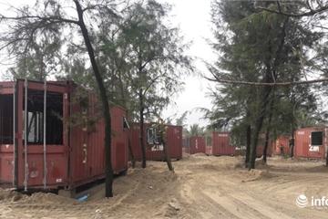 Hà Tĩnh: Hàng chục container bỗng 'hóa phép' thành nhà ở giữa rừng phòng hộ