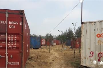 """Hà Tĩnh: Phê bình công ty """"biến"""" hàng chục container thành nhà giữa rừng phòng hộ"""