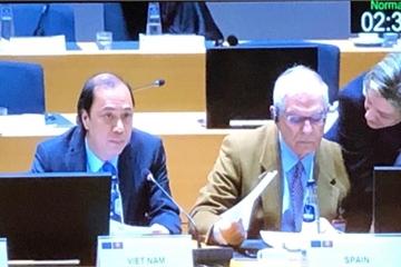 Đẩy mạnh các lĩnh vực ưu tiên trong hợp tác ASEAN - EU năm 2019