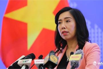 Việt Nam kiên quyết bảo vệ chủ quyền, yêu cầu tàu Trung Quốc rút ngay khỏi EEZ