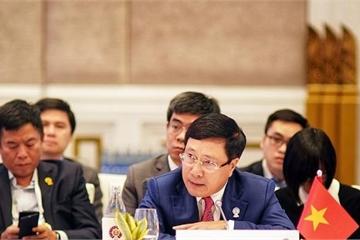 Phó Thủ tướng Phạm Bình Minh tham dự AMM 52 tại Thái Lan