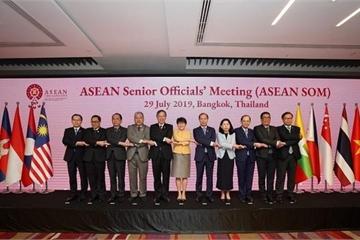 SOM ASEAN họp trù bị cho AMM 52 và các Hội nghị Bộ trưởng liên quan