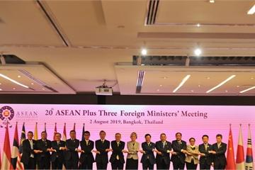 Phó Thủ tướng dự Hội nghị Bộ trưởng Ngoại giao ASEAN+3 lần thứ 20