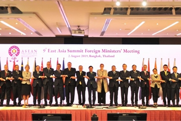 Khai mạc Hội nghị Bộ trưởng Ngoại giao Đông Á (EAS) lần thứ 9