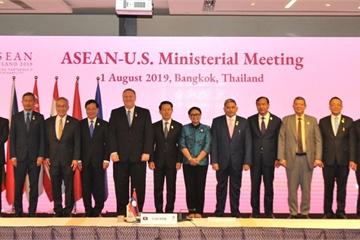 Phó Thủ tướng Phạm Bình Minh dự Hội nghị Bộ trưởng Ngoại giao ASEAN - Mỹ