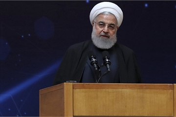 """Tổng thống Iran Rouhani """"lạnh lùng"""" từ chối mọi đề nghị đàm phán với Mỹ"""