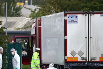 Bộ Ngoại giao thông tin về vụ việc 39 nạn nhân thiệt mạng trong xe tải ở Anh
