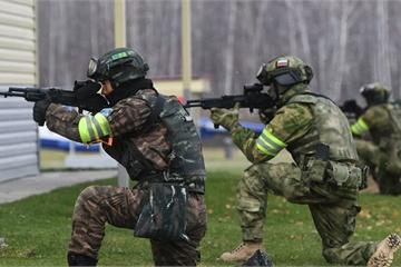 Đặc nhiệm Nga đến Trung Quốc tham gia tập trận với ASEAN