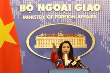 BNG trả lời thông tin về tàu Hải Dương 9 của Trung Quốc đi vào vùng biển Việt Nam