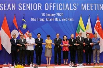 ASEAN họp SOM trù bị cho Hội nghị hẹp các Bộ trưởng Ngoại giao