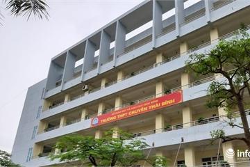 """Sở GD&ĐT Thái Bình lên tiếng về đề thi vào lớp 10 chuyên nghi """"có sai sót"""""""