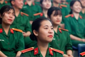 Điểm xét tuyển vào các trường quân đội được quy định thế nào?