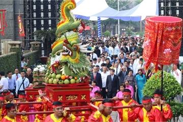 Hàng ngàn người dự lễ Giỗ tổ Hùng Vương tại TP.HCM