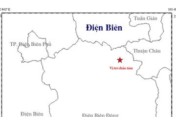 Động đất 4 độ richter tại Điện Biên