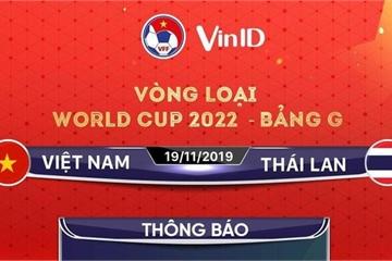 """Cháy vé trận Việt Nam - Thái Lan: Sau hơn 1 phút mở bán đã... """"hết vé"""""""