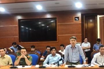 Sở TN&MT Hòa Bình: Yêu cầu Nhà máy nước sông Đà khẩn trương xử lý cát nhiễm dầu