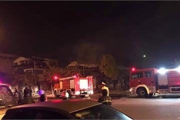 Vĩnh Yên: Bốn người tử vong trong nhà hàng cháy lúc rạng sáng