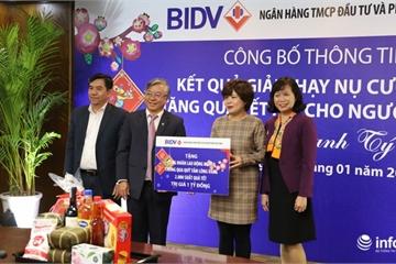 20 tỷ đồng được BIDV mang đến cho người nghèo năm Canh Tý 2020