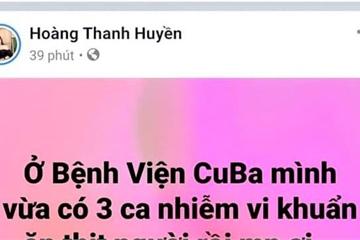 """Xuất hiện """"vi khuẩn ăn thịt người"""" ở Quảng Bình chỉ là tin đồn... thất thiệt"""