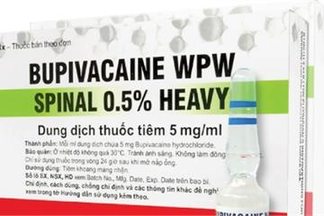 Thuốc gây tê nghi gây tai biến: Công ty nhập khẩu thuốc tạm dừng cung ứng