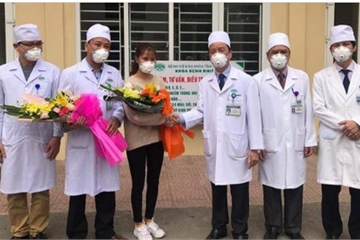 Hình ảnh đầu tiên bệnh nhân mắc Corona ở Thanh Hóa khỏi bệnh, xuất viện