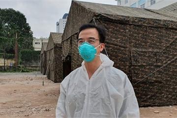 """Giám đốc BV Bạch Mai lên tiếng về ồn ào """"nữ BS mang thai xung phong chống dịch"""""""