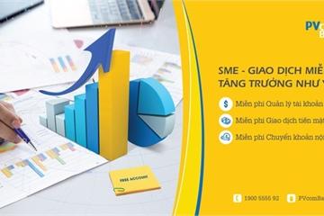 PVcomBank miễn phí tài khoản cho khách hàng doanh nghiệp