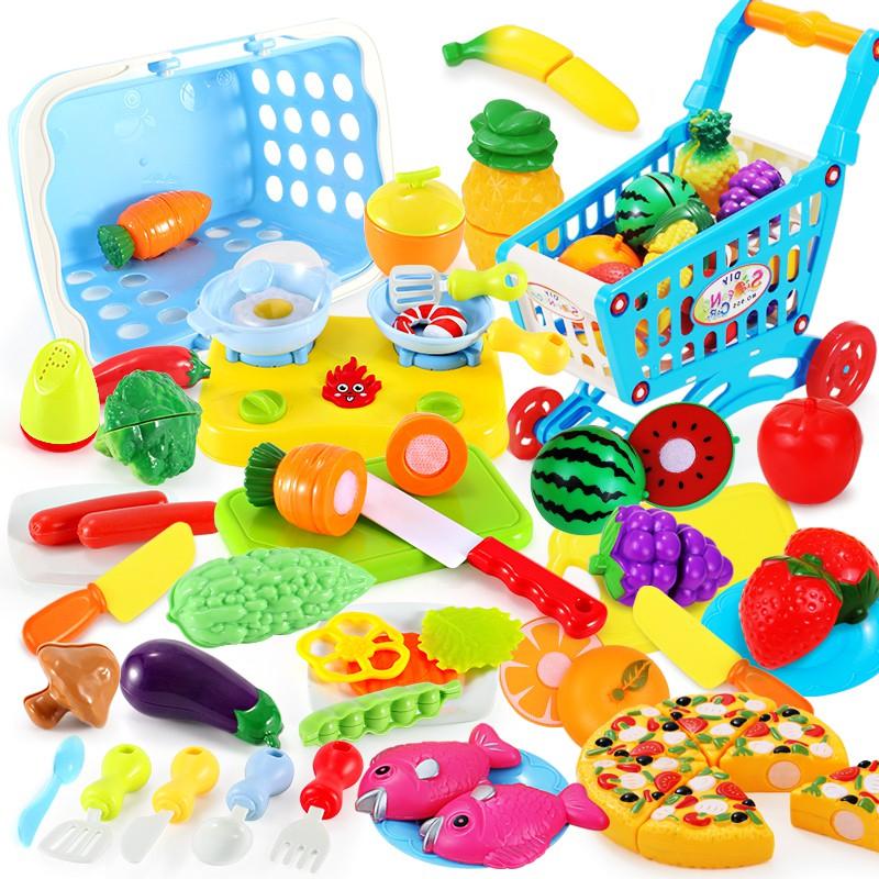 Trò chơi đồ hàng tại nhà giúp bé ghi nhớ các vật dụng, các kỹ năng sống, kích thích trí tưởng tượng và học làm toán
