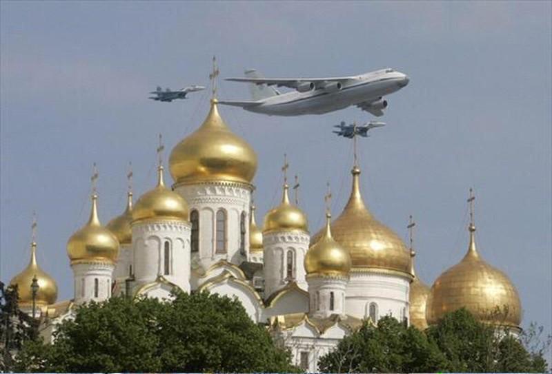 Những hình ảnh ấn tượng nhất tại Lễ duyệt binh Nga 9/5/2015 - ảnh 10