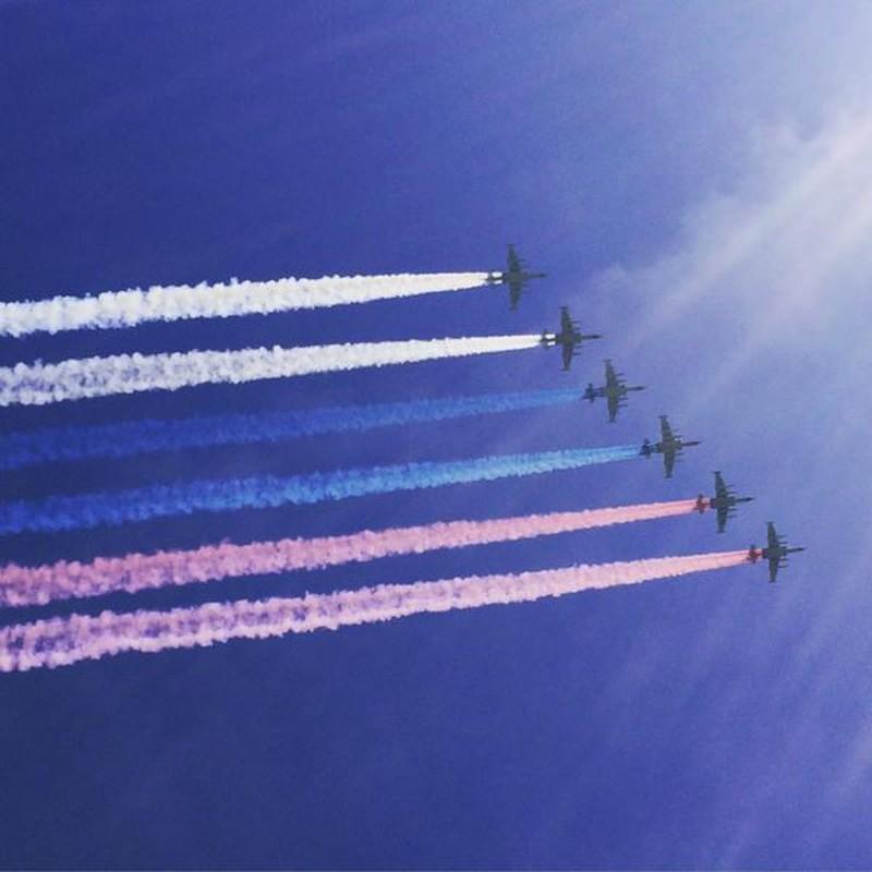 Những hình ảnh ấn tượng nhất tại Lễ duyệt binh Nga 9/5/2015 - ảnh 11